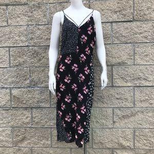 Topshop Slip On Floral Dress